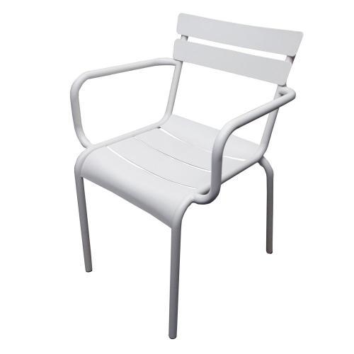 scaun-alb